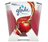 Glade Spiced Apple Apple and cinnamon scented candle burning time up to 30 hours 70 g