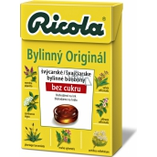 Ricola Original Swiss herbal candies without sugar with vitamin C from 13 herbs 40 g