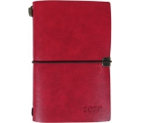 Luxury red diary