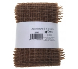 Ditipo Jute ribbon light brown 2 mx 5 cm