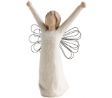 Willow Tree - Angel of Courage - Brings the spirit of victory, inspiration and courage Figurine of an angel Willow Tree, height 15 cm