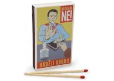 Nekupto Original matches in retro style Alcohol no! I prefer a book of 45 pieces