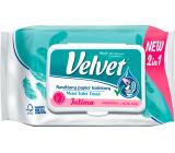 Velvet Intima 2 in 1 moisturized toilet paper 42 pieces