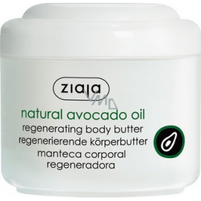Ziaja Avocado oil body butter dry and damaged skin 200 ml