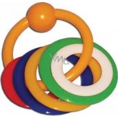 Plastic Nova Biting rings for children from 0 months