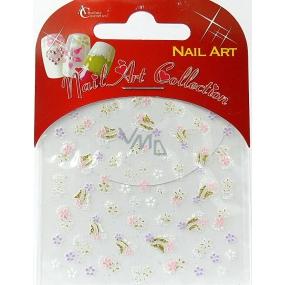 Absolute Cosmetics Nail Art self-adhesive nail stickers S3D024 1 sheet
