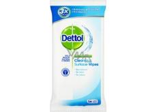 Dettol Cleansing Surface Wipes antibakteriální ubrousky na povrchy 36 kusů