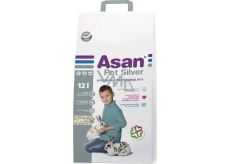Asan Pet Silver litter for dwarf bunnies and rodents 12 l