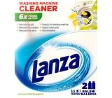 Lanza Lemon Freshness tekutý čistič pračky 2 x 250 ml