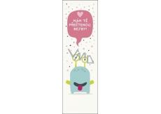 Albi Bookmark Flip Flop 3D Monster 19 x 5 cm