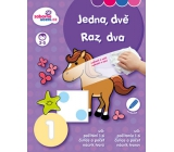 Ditipo Erasable notebook One, two for children 3-5 years 16 pages 215 x 275 mm