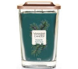Yankee Candle Frosted Fir - Frosted Fir Soy Candle Elevation Large Glass 2 Wicks 552 g