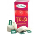 Dr. Popov Tulsi Basil Herbal Tea promotes vitality, immune breathing, also contributes to stress management 20 x 1.5 g