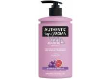 Authentic Toya Aroma Grape & Grapefruit Liquid Soap 400 ml dispenser
