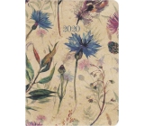 Albi Diary 2020 weekly Meadow flowers 17 x 12,5 x 1,2 cm