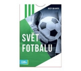 Albi Pocket Quizzes Soccer World 50 cards, age: 12+