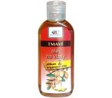 Bione Cosmetics Argan oil with silicone for dark hair 80 ml