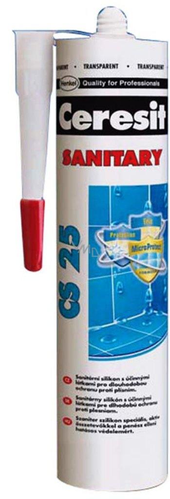 ceresit cs 25 sanitary silicone white 280 ml vmd parfumerie drogerie. Black Bedroom Furniture Sets. Home Design Ideas
