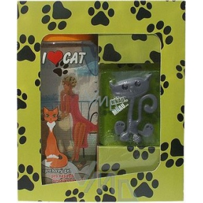 Bohemia Gifts Urban cosmetics For cat lovers, shower gel 300 ml with handmade soap