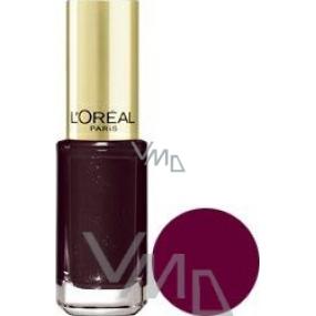 Loreal Paris Color Riche Le Vernis nail polish 406 Burgundy Diva 5 ml
