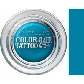 Maybelline Color Tattoo 24h eyeshadow 20 Turquoise Forever 4 g