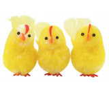 Full-bodied chickens 6 cm in a box of 3 pieces