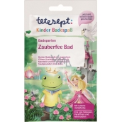 Tetesept Magic Fairies Bath pearls amazing water color, glitter effect and crackle for girls 60 g