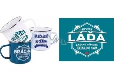 Albi Metal mug called Láďa 250 ml
