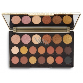 Makeup Revolution Jewel Collection Eye Shadow Palette Gilded 16.9 g