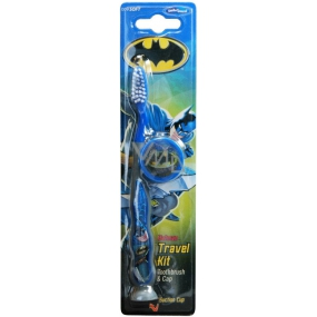 Batman soft toothbrush with cap for children 2-6 years