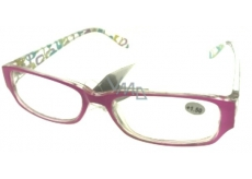 Eyeglasses + 1.5 pink side with rectangles MC2084