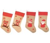 Jute stocking 47 cm 1 piece