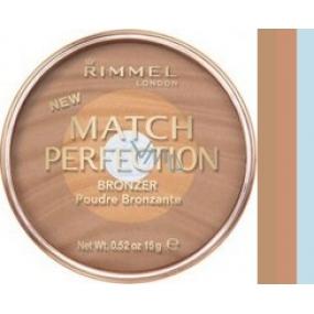 Rimmel London Match Perfection Bronzer Powder 002 Medium 15 g
