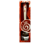Nekupto Twister Spoon with the name Iva red 16 cm 1 piece