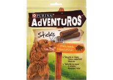 Purina Adventuros Sticks tyčinky s bizoní příchutí 120 g