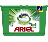Ariel 3in1 Mountain Spring gel capsules for washing clothes 14 pieces 418.6 g