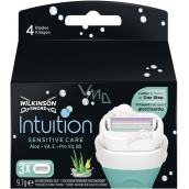 Wilkinson Intuition Sensitive Care Aloe + Vitamin B5 replacement head for women 3 pieces