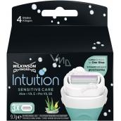 Wilkinson Intuition Sensitive Care Aloe + Vitamin B5 náhradní hlavice pro ženy 3 kusy