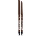 Essence Superlast 24h Eyebrow Pomade Pencil Waterproof tužka na obočí 30 Dark Brown 0,31 g