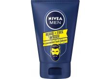 Nivea Men Beard + Face Cleansing Face & Beard 100 ml