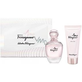 Salvatore Ferragamo Amo Ferragamo EdP 50 ml Women's scent water + 100 ml body lotion