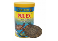 TUBIFEX Pulex Gamarus 125ml for Fish, Turtles 0232
