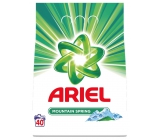 Ariel Mountain Spring washing powder for clean and fragrance-free stains 40 doses of 3 kg