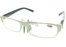 Berkeley Optical Frames +2.0 Plastic White Black Side 1 Piece MC2062