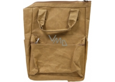 Albi Eco backpack with handles made of washable paper Without print 39 x 28 x 16 cm