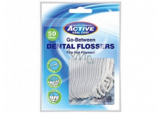 Beauty Formulas dental toothpicks with floss bag of 50 pieces