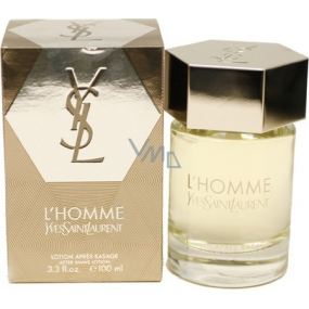 Yves Saint Laurent L Homme AS 100 ml mens aftershave