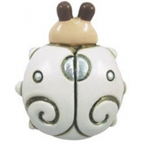 Magnet cream mat Ladybug