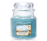 Yankee Candle Viva Havana - Long live Havana scented candle Classic medium glass 411 g