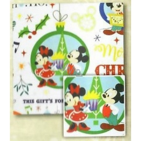 Nekupto Gift wrapping paper 70 x 150 cm Christmas Winter Magic, Mickey Mouse